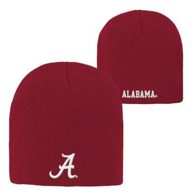 Alabama Youth Basic Cuffless Knit Beanie