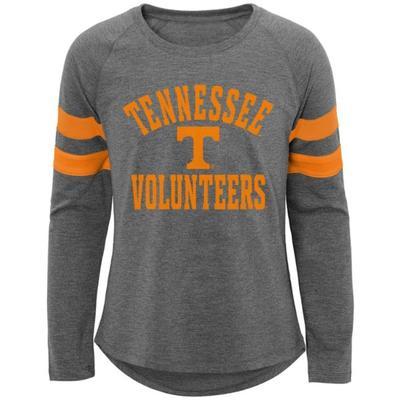 Tennessee Girls' Cheer Squad L/S Raglan Tee