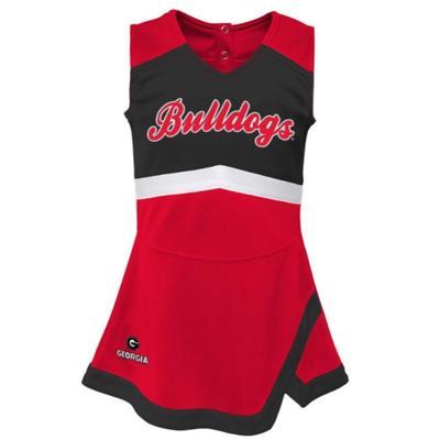 Georgia Kids' Cheer Captain Jumper Dress