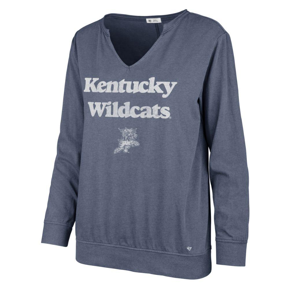 Kentucky ' 47 Brand Wildcats Gamma Long Sleeve Tee