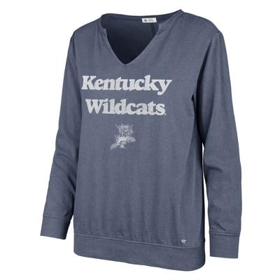 Kentucky '47 Brand Wildcats Gamma Long Sleeve Tee
