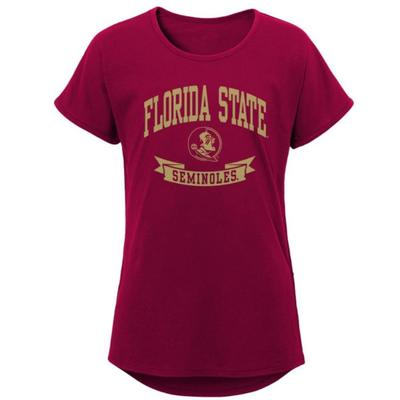 Florida State Youth Team Spirit S/S Dolman Tee