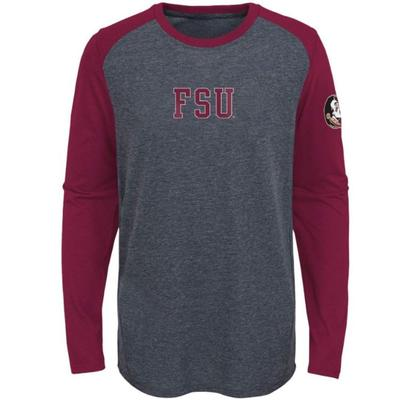 Florida State Kids First String L/S Ultra Tee