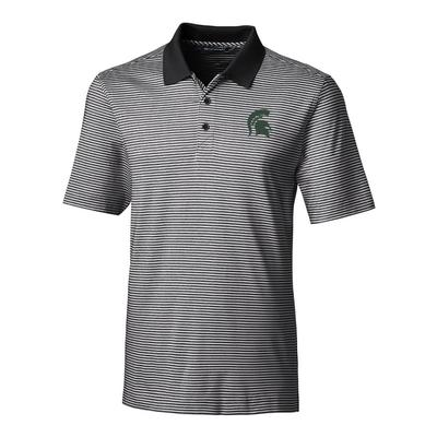 Michigan State Cutter & Buck Big and Tall Forge Stripe Polo ***Custom Order***