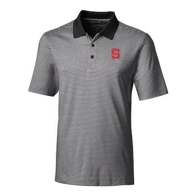 NC State Cutter & Buck Big and Tall Forge Stripe Polo