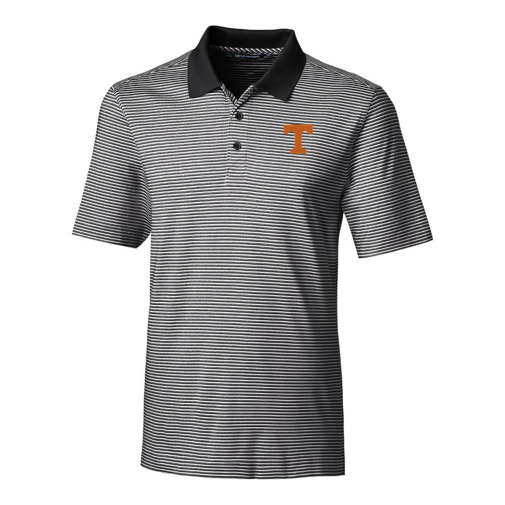 Tennessee Cutter & Buck Big And Tall Forge Stripe Polo *** Custom Order ***