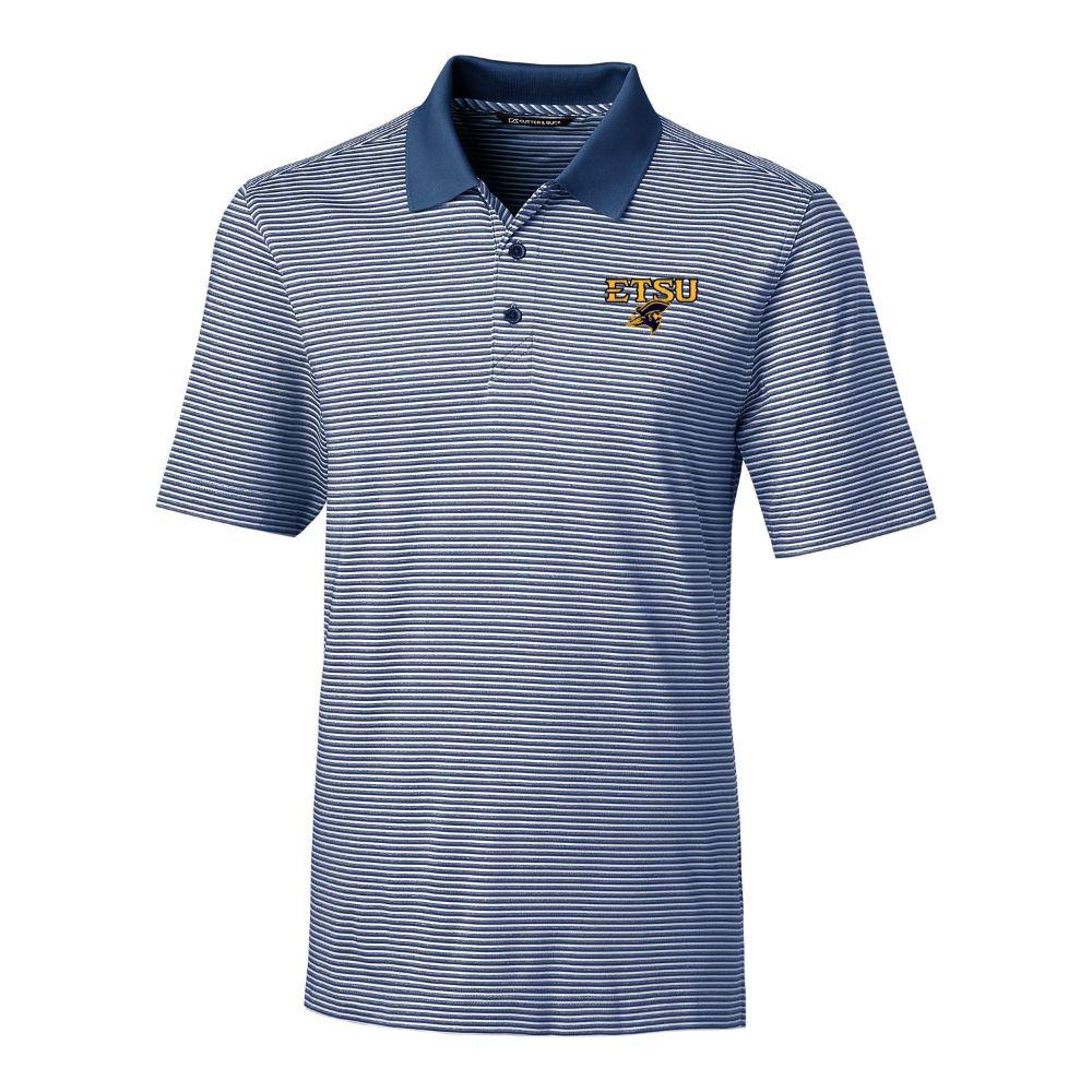 Etsu Cutter & Buck Big And Tall Forge Stripe Polo *** Custom Order ***