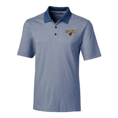 ETSU Cutter & Buck Big and Tall Forge Stripe Polo ***Custom Order***