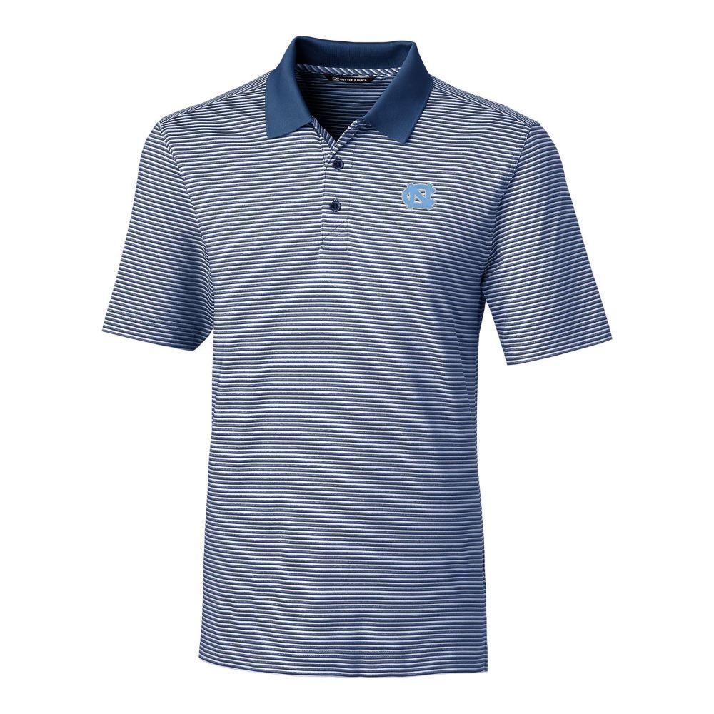 Unc Cutter & Buck Big And Tall Forge Stripe Polo *** Custom Order ***