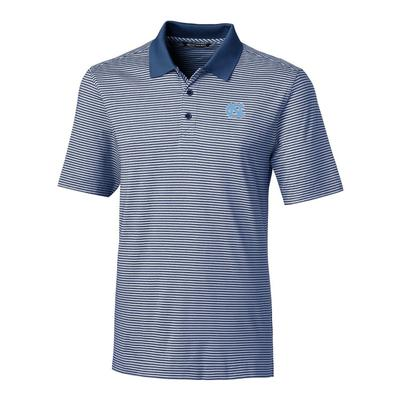 UNC Cutter & Buck Big and Tall Forge Stripe Polo