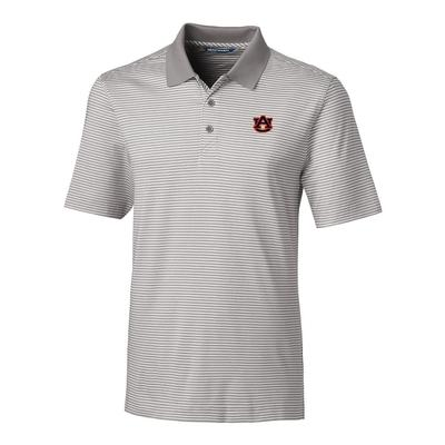 Auburn Cutter & Buck Big and Tall Forge Stripe Polo