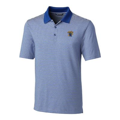 Kentucky Cutter & Buck Big and Tall Forge Stripe Polo