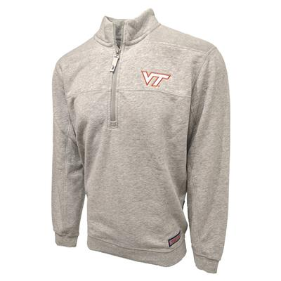 Virginia Tech Vineyard Vines Shep 1/2 Zip Pullover