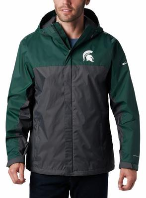 Michigan State Columbia Glennaker Storm Jacket - Tall Sizing