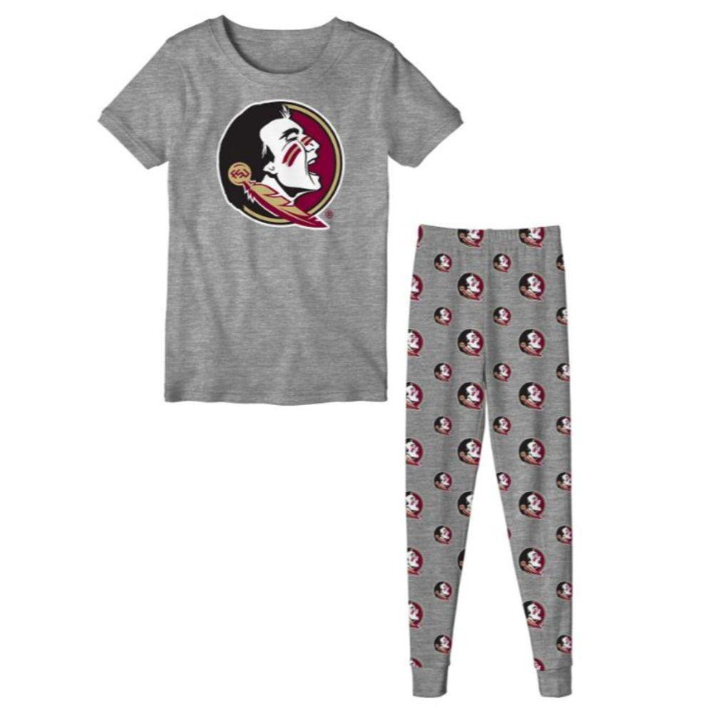 Fsu Youth S/S Tee And Pant Sleep Set