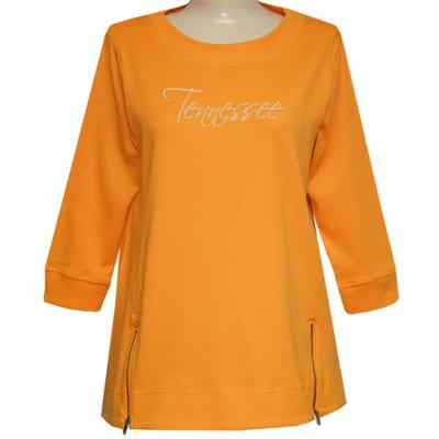 Tennessee Nitro Front Zip Script Tunic