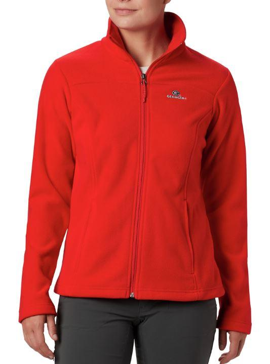 Georgia Columbia Women's Give And Go Full Zip Jacket
