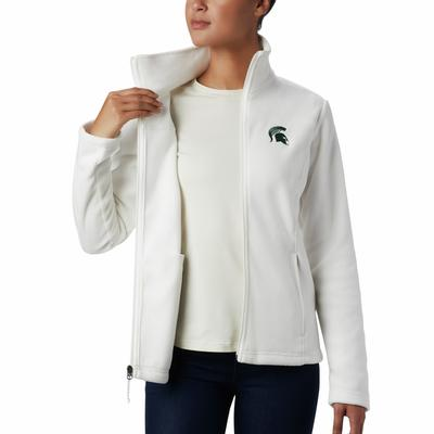 Michigan State Columbia Women's Give and Go Full Zip Jacket