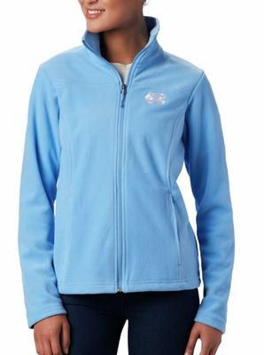 UNC Columbia Women's Give and Go Full Zip Jacket