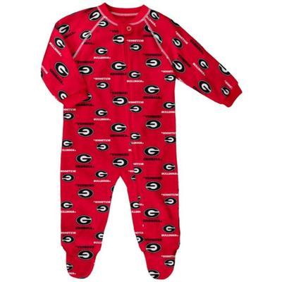 Georgia Raglan Zip Up Coverall Pajamas