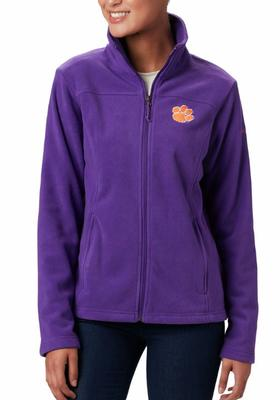 Clemson Columbia Women's Give and Go Full Zip Jacket - Plus Sizes