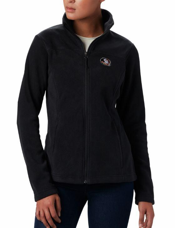 Florida State Columbia Women's Give And Go Full Zip Jacket - Plus Sizes