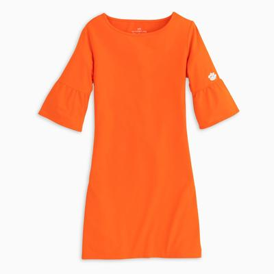 Clemson Southern Tide Game Day Micro Striped Dress