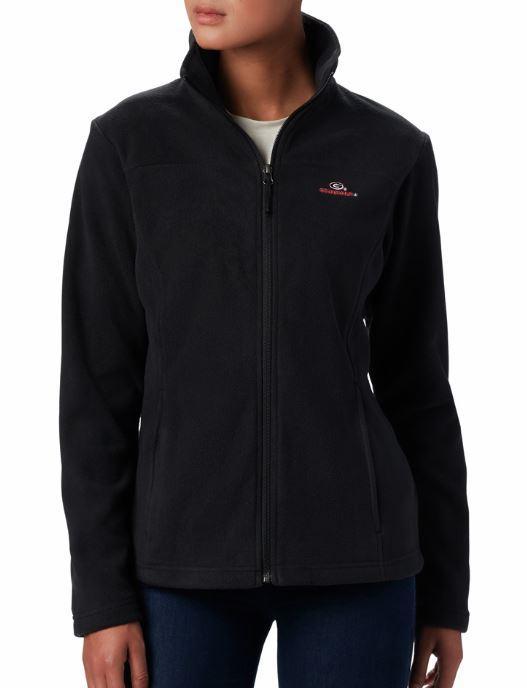Georgia Columbia Women's Give And Go Full Zip Jacket - Plus Sizes