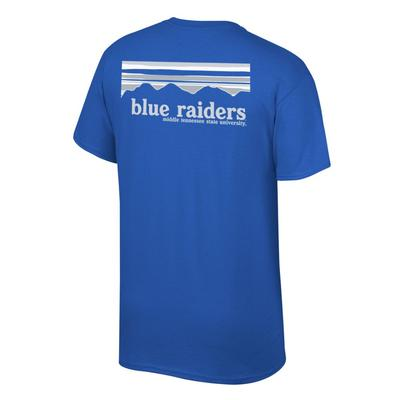 MTSU Mountains Horizon Blue Raiders Tee Shirt