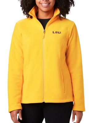 LSU Columbia Women's Give and Go Full Zip Jacket - Plus Sizes
