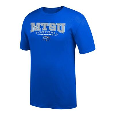 MTSU Football Laces Logo Tee Shirt