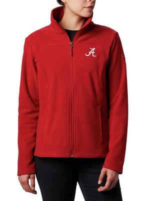 Alabama Columbia Women's Give and Go Full Zip Jacket - Plus Sizes