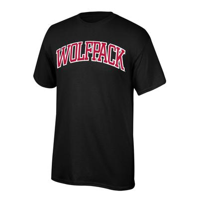 NC State Boys Arch Wolfpack Tee Shirt