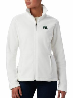 Michigan State Columbia Women's Give and Go Full Zip Jacket - Plus Sizes