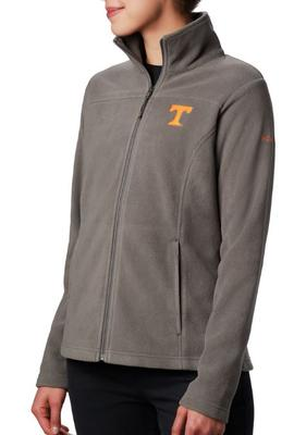 Tennessee Columbia Women's Give and Go Full Zip Jacket - Plus Sizes