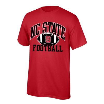 NC State Youth NC State Football Tee Shirt RED
