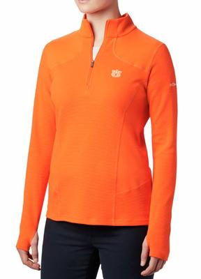 Auburn Columbia Women's Dream Ridge 1/2 Zip Pullover