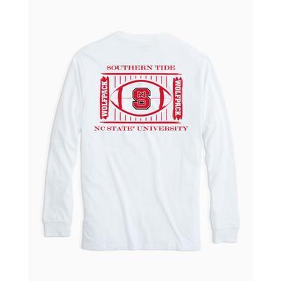 NC State Southern Tide Stadium L/S Shirt