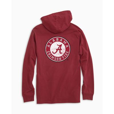 Alabama Southern Tide Distressed Game Day Hoodie