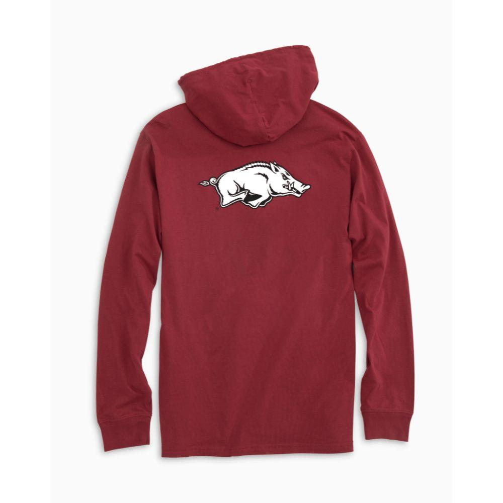 Arkansas Southern Tide Distressed Game Day Hoodie