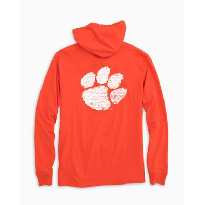 Clemson Southern Tide Distressed Game Day Hoodie