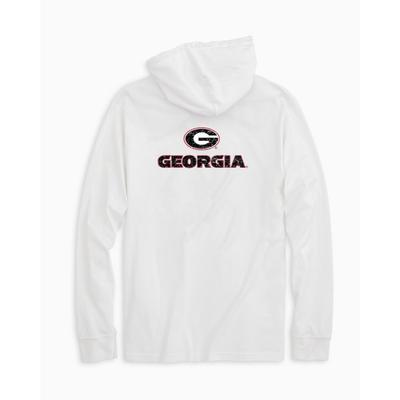 Georgia Southern Tide Distressed Game Day Hoodie