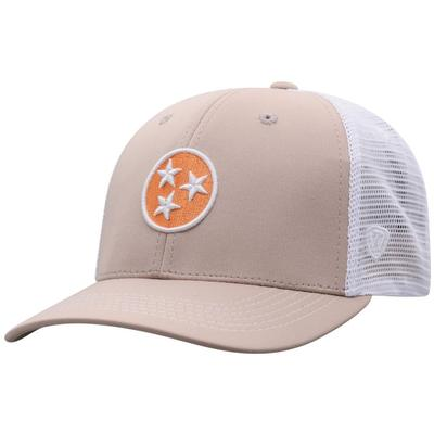 Tennessee Tri-Star Adjustable Trucker Hat