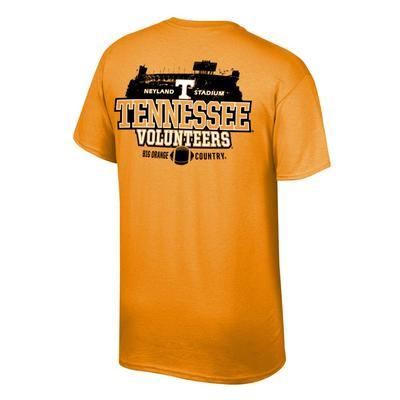 Tennessee Stadium Shadow Tennessee Volunteers Tee Shirt TN_ORG