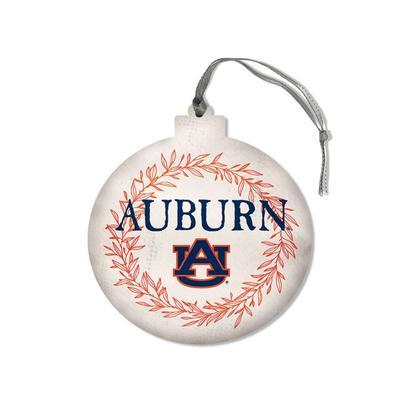 Auburn Legacy Laurel's Round Ornament