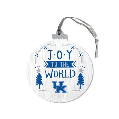 Kentucky Legacy Joy to the World Ornament