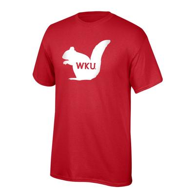 Western Kentucky Youth Giant White Squirrel WKU Logo Tee Shirt