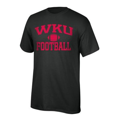 Western Kentucky Youth WKU Football Tee Shirt BLACK