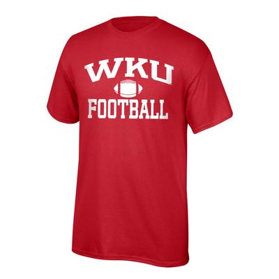 Western Kentucky Youth WKU Football Tee Shirt RED