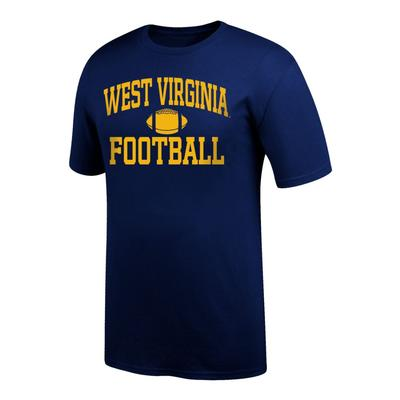 West Virginia Arch Football Tee Shirt